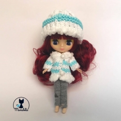 Outfit Coat Blue Petite