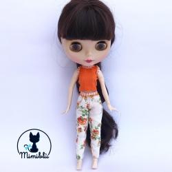 Outfit Pantalón Naranja