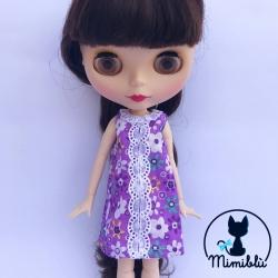 Purple Hippie Dress