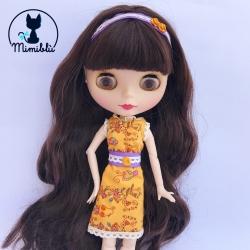 Outfit Vestido Naranja