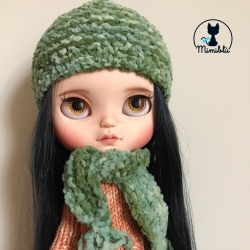 Green Hat and scarf